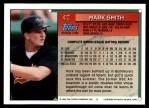 1994 Topps Traded #4 T Mark Smith  Back Thumbnail