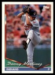 1994 Topps Traded #7 T Dennis Martinez  Front Thumbnail
