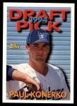 1994 Topps Traded #112 T Paul Konerko  Front Thumbnail