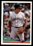 1994 Topps Traded #117 T Mark Leiter  Front Thumbnail