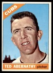 1966 Topps #2  Ted Abernathy  Front Thumbnail