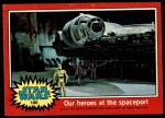 1977 Topps Star Wars #100   Our heroes at the spaceport Front Thumbnail