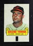1966 Topps Rub Offs  Johnny Orsino  Front Thumbnail