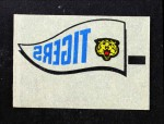 1966 Topps Rub Offs    Detroit Tigers Pennant Front Thumbnail