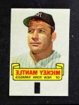 1966 Topps Rub Offs   Mickey Mantle   Front Thumbnail