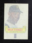1966 Topps Rub Offs   Willie Stargell   Back Thumbnail