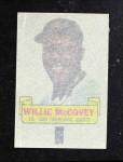 1966 Topps Rub Offs   Willie McCovey   Back Thumbnail