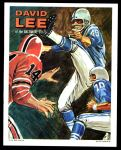 1970 Topps Poster #13  David Lee  Front Thumbnail