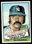 1976 Topps Traded #27 T Ed Figueroa  Front Thumbnail