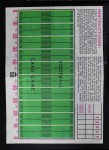 1971 Topps Football Posters #28  Dick Butkus  Back Thumbnail