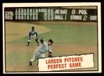 1961 Topps #402   -  Don Larsen Baseball Thrills Front Thumbnail