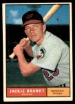 1961 Topps #515  Jackie Brandt  Front Thumbnail