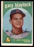 1959 Topps #539  Gary Blaylock  Front Thumbnail