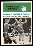 1961 Fleer #61   -  Oscar Robertson In Action Front Thumbnail