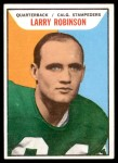 1965 Topps CFL #27  Larry Robinson  Front Thumbnail