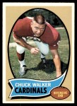 1970 Topps #133  Chuck Walker  Front Thumbnail