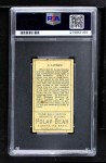 1911 T205 A Arlie Latham  Back Thumbnail