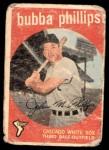 1959 Topps #187  Bubba Phillips  Front Thumbnail
