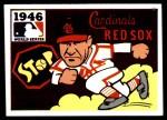 1971 Fleer World Series #44   -  Enos Slaughter 1946 Cardinals / Red Sox  Front Thumbnail