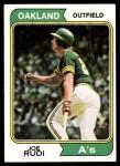 1974 Topps #264  Joe Rudi  Front Thumbnail