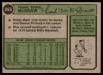 1974 Topps #265  Tug McGraw  Back Thumbnail