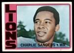1972 Topps #60  Charlie Sanders  Front Thumbnail