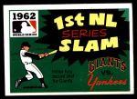 1971 Fleer World Series #60   1962 Yankees / Giants Front Thumbnail