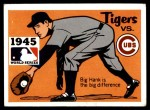 1971 Fleer World Series #43   -  Hank Greenberg 1945 Tigers / Cubs  Front Thumbnail
