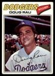 1977 Topps #421  Doug Rau  Front Thumbnail
