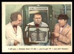 1959 Fleer Three Stooges #14   I Tell You Humans have 13 ribs Front Thumbnail