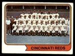 1974 Topps #459   Reds Team Front Thumbnail