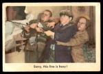 1959 Fleer Three Stooges #95   Sorry this Line is Busy Front Thumbnail