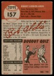 1953 Topps #157  Bob Addis  Back Thumbnail
