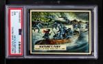 1962 Topps Civil War News #15   Nature's Fury Front Thumbnail