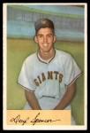 1954 Bowman #185 COR Daryl Spencer  Front Thumbnail