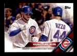 2016 Topps #453   -  Kris Bryant / Anthony Rizzo Young Cubs Buds Front Thumbnail