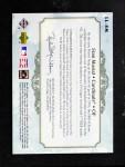 2005 Upper Deck   -  Stan Musial SP Legendary Cuts (Patch) Back Thumbnail
