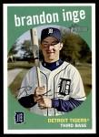 2008 Topps Heritage #454  Brandon Inge  Front Thumbnail
