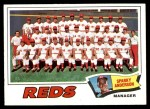 1977 Topps #287   -  Sparky Anderson  Reds Team Checklist Front Thumbnail