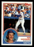 1983 Topps #469  Ron Gardenhire  Front Thumbnail