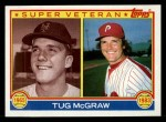 1983 Topps #511   -  Tug McGraw Super Veteran Front Thumbnail