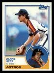 1983 Topps #538  Danny Heep  Front Thumbnail