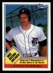 1983 Topps #4   -  Lance Parrish Record Breaker Front Thumbnail