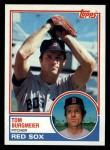 1983 Topps #213  Tom Burgmeier  Front Thumbnail