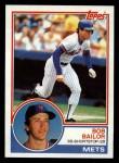 1983 Topps #343  Bob Bailor  Front Thumbnail