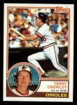 1983 Topps #372  Terry Crowley  Front Thumbnail