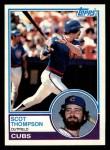 1983 Topps #481  Scot Thompson  Front Thumbnail