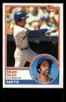 1983 Topps #548  Brian Giles  Front Thumbnail