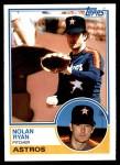 1983 Topps #360  Nolan Ryan  Front Thumbnail