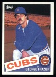 1985 Topps #19  George Frazier  Front Thumbnail